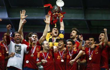 Furia Roja : Championne d'Europe 2012 il y a 3 ans