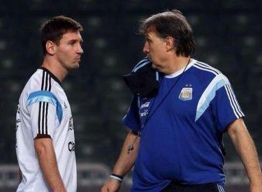 Argentine: Tata Martino «Messi n'ira pas aux JO»