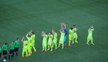 Liga: 37ème journée, les résultats, La Liga au Barça