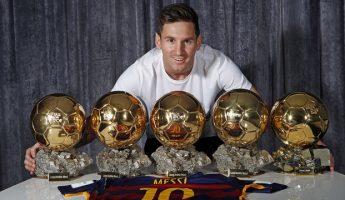 Barça: Le 5e Ballon d'Or au musée du club