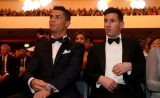 Ballon d'Or : Quand Ronaldo salue la compagne de Messi