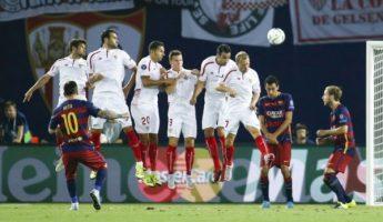 Supercopa : Le Barça affrontera Séville