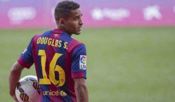 Barça : Douglas de retour en janvier ?