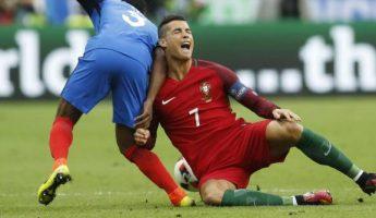 Euro2016 : Cristiano sort sur blessure en finale