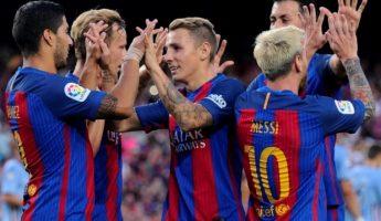 Supercopa : Barça v Séville, 3-0 : Premier titre pour les blaugranas