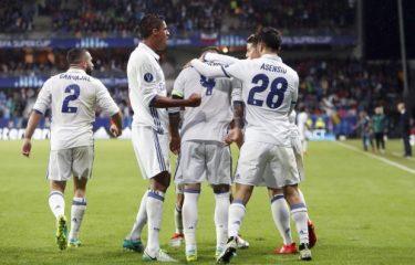 Supercoupe d'Europe : Seville v Real, 2-3 : Le Real sacré champion d'Europe à nouveau