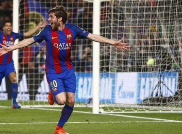 Lourde suspension pour Sergi Roberto