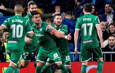 Real Madrid v Leganés, 1-2 : Les merengues éliminés de la Copa del Rey !