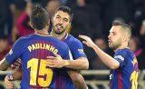 Copa del Rey : Barça v Valence, 1-0 : Les blaugrana prennent l'avantage