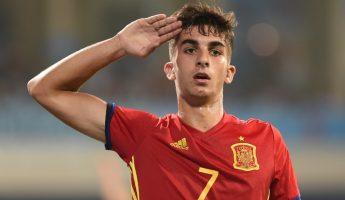 Ferran Torres (Valence) libéré par les U19 espagnols.