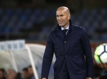 Zidane ne souhaite pas parler de Mbappé